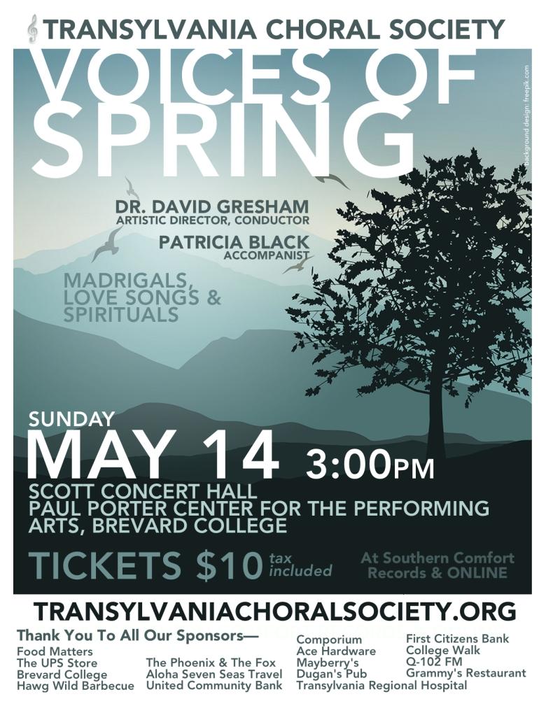Voices Of Spring 2017, Transylvania Choral Society