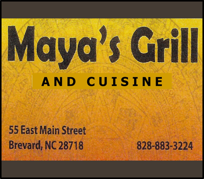 Maya's Grill Brevard, TCS Sponsor 2019