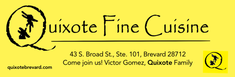 Quixote Fine Cuisine Brevard Downtown - TCS Sponsor